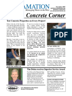Concrete Newsletter Nov07