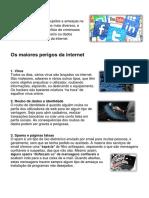 Perigos internet