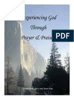 Experiencing God Through Prayer and Praise [Revised Mar 2017]