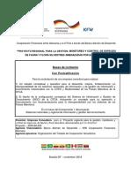 Bases de Licitación Componente 1 21-12-18 Con No Objeción KfW