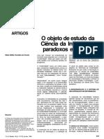O objeto de estudo da Ciência da Informação.pdf
