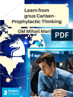 GM Mihail Marin - Learn From Magnus Carlsen - Prophylactic Thinking 2018_SC