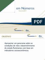 Apresentação do economista-chefe da Federação do Comércio de Bens, Serviços e Turismo do Estado do Rio de Janeiro (Fecomércio), João Gomes.