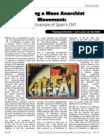 Sefalafala and van der Walt - Building a Mass Anarchist Movement