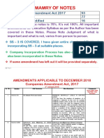 Amendments Applicable to December 2018 (1) Amended