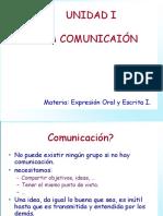 UNIDAD 1. 1.1 El Lenguaje