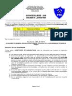 Convocatoria Asistentes Lab SEM- 2-2018