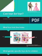 Gender Specific Toys