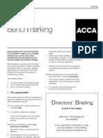 ACCA Directors Briefing Bench Marking