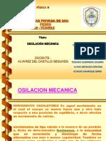 OSILACION MECANICA FISICA II