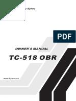 Hytera Tc 518 u1 Hp Obr Owners Manual
