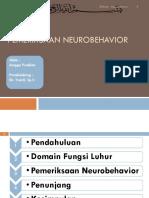 Pemeriksaan Neurobehavior.ppt