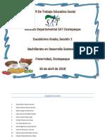 Perfil de Trabajo Educativo Social 2018