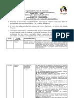 Cronograma de Programa de Formación Sociopolítica