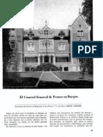 El Cuartel General de Franco en Burgos - J. M. Gárate Córdoba - Ejército 246 - Jul 1960