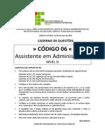 COD 06 - Caderno Completo_IFPB_2015- OK