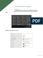 Panduan VPN UB PPTP Windows 10
