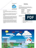 activity for water cycle