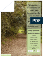 Búsqueda de documentos en torno a la Quinta Cigordia para futuros proyectos y producciones educativas ambientales.