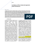 Revisión Fitofarmacológica en Flores