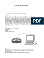 Router Console Manual