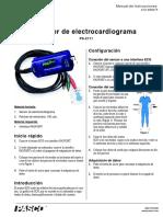 Sensor de Electrocardiograma Pasport