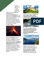 Volcan, Montaña, Mar, Lago Etc