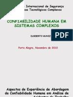 Confiabilidade Humana Em Sistemas Complexos