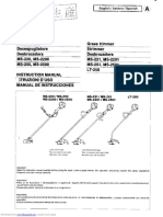 Dolmar MS221 Service Manual