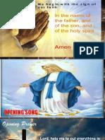 Bible Service Format