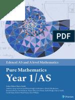 Edexcel a Level Mathematics Pure Mathematics Year 1