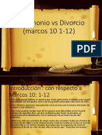 Matrimonio vs Divorcio