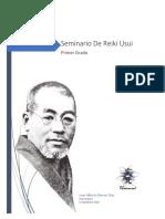 Manual 1er Grado Reiki Usui