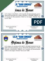 Diplomas San Lucas 2018