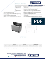 Mesa Refrigerada de Preparacion APTM 48 18