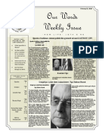 Newsletter Volume 10 Issue 08
