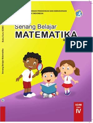 Bg Matematika Kelas 4 Datadikdasmen Com Pdf