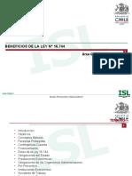 Beneficio de la Ley 16.744 y procedimientos médicos_Instituto de Seguridad Laboral, Carlos Chacana