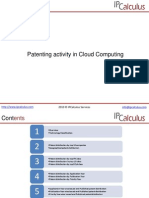IPCalculus - Cloud Computing Patenting Activity