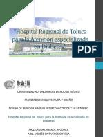 Hospital Regional de Toluca Para La Atencic3b3n de La Diabetes Imagen Basica