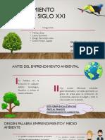 Emprendimiento Ambiental Siglo Xxi.