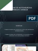 Sindrome motoneurona superior e inferior