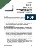 FNL Bab 2 PENILAIAN KERUSAKAN PANTAI DAN PRIORITAS PENANGANANNYA.docx
