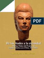 """Libro """"De los Andes a la eternidad. Marina Núñez Del Prado y su legado artístico en el Perú, 1971-1995"""""""