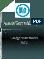 Acceleration Testing Durability