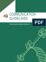 4C Communication Guidelines v2.2