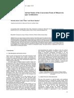 Evolution of Minarets
