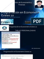 sesión2Programación en Eviews 10