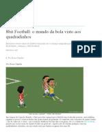 8bit Football_ o Mundo Da Bola Visto Aos Quadradinhos