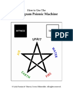 Pentagram Psionic Machine Illustrated Users Manualpdf